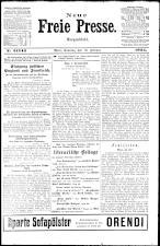 Neue Freie Presse 19240210 Seite: 1