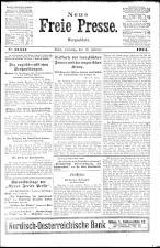 Neue Freie Presse 19240219 Seite: 1