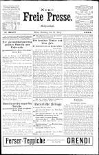 Neue Freie Presse 19240316 Seite: 1