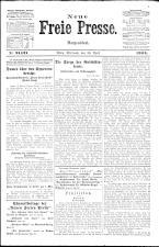 Neue Freie Presse 19240430 Seite: 1