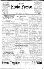 Neue Freie Presse 19240514 Seite: 1