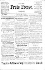 Neue Freie Presse 19240608 Seite: 1