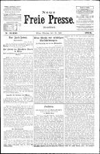 Neue Freie Presse 19240714 Seite: 1