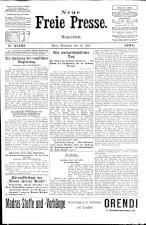 Neue Freie Presse 19240716 Seite: 1