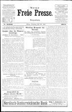 Neue Freie Presse 19240722 Seite: 1