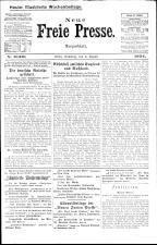 Neue Freie Presse 19240809 Seite: 1
