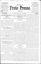Neue Freie Presse 19240811 Seite: 1