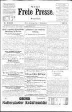 Neue Freie Presse 19240907 Seite: 1