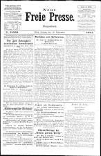 Neue Freie Presse 19240919 Seite: 1
