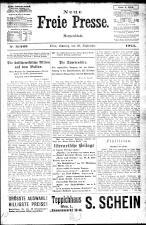 Neue Freie Presse 19240928 Seite: 1