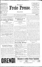 Neue Freie Presse 19241012 Seite: 1