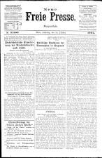Neue Freie Presse 19241018 Seite: 1
