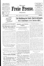 Neue Freie Presse 19250102 Seite: 1