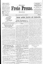 Neue Freie Presse 19250103 Seite: 1