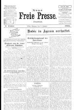 Neue Freie Presse 19250105 Seite: 1