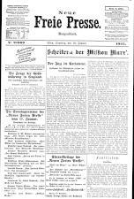 Neue Freie Presse 19250110 Seite: 1