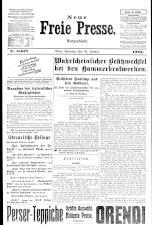 Neue Freie Presse 19250118 Seite: 1