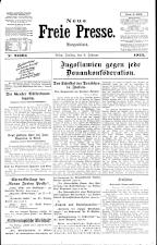 Neue Freie Presse 19250206 Seite: 1