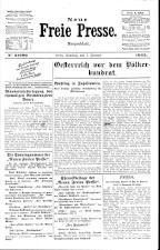 Neue Freie Presse 19250207 Seite: 1