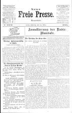 Neue Freie Presse 19250314 Seite: 1