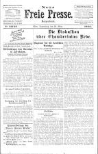 Neue Freie Presse 19250326 Seite: 1