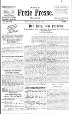 Neue Freie Presse 19250327 Seite: 1