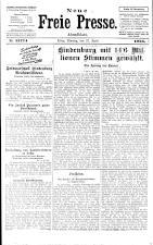 Neue Freie Presse 19250427 Seite: 1