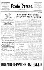 Neue Freie Presse 19250503 Seite: 1