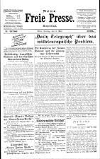 Neue Freie Presse 19250508 Seite: 1