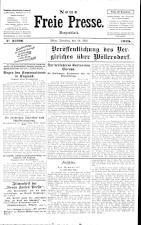 Neue Freie Presse 19250519 Seite: 1