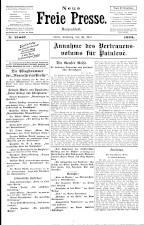 Neue Freie Presse 19250530 Seite: 1