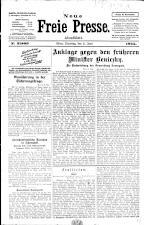 Neue Freie Presse 19250602 Seite: 1