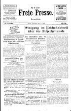 Neue Freie Presse 19250703 Seite: 1