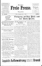 Neue Freie Presse 19250705 Seite: 1