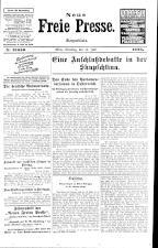 Neue Freie Presse 19250714 Seite: 1