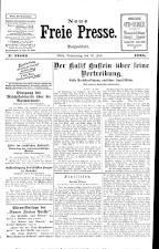 Neue Freie Presse 19250716 Seite: 1