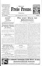 Neue Freie Presse 19250718 Seite: 1