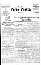 Neue Freie Presse 19250720 Seite: 1