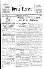 Neue Freie Presse 19250723 Seite: 1