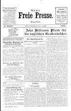 Neue Freie Presse 19250806 Seite: 1