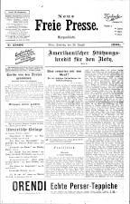 Neue Freie Presse 19250830 Seite: 1