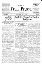 Neue Freie Presse 19250831 Seite: 1