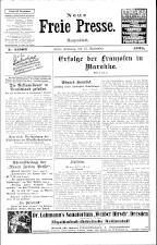 Neue Freie Presse 19250912 Seite: 1