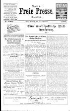 Neue Freie Presse 19250916 Seite: 1