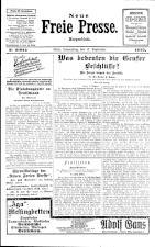 Neue Freie Presse 19250917 Seite: 1