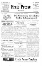 Neue Freie Presse 19250920 Seite: 1