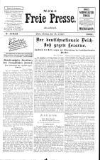 Neue Freie Presse 19251026 Seite: 1
