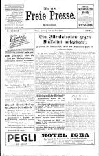 Neue Freie Presse 19251106 Seite: 1