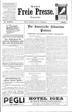 Neue Freie Presse 19251121 Seite: 1