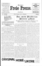 Neue Freie Presse 19251123 Seite: 1